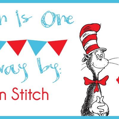 Carsyn's 1st Birthday Bash: A Green Stitch Giveaway