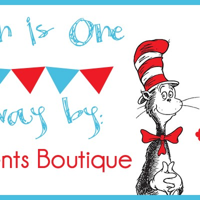 Carsyn's 1st Birthday Bash: Sweet Moments Boutique Giveaway!