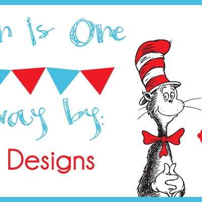 Carsyn's 1st Birthday: Turnbow Designs Giveaway