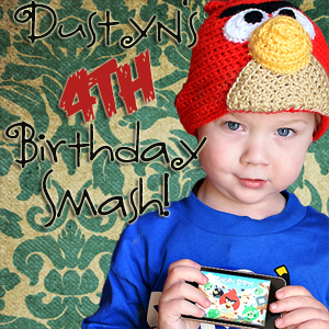 Dustyn's 4th Birthday Smash Announcement!