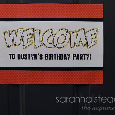 Dustyn's Angry Birds Birthday Smash | Decorations