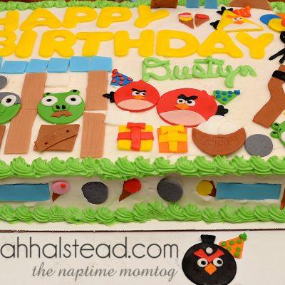 Dustyn's Angry Birds Birthday Smash | Food