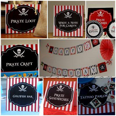 Pirate Birthday Party | 505 Designs