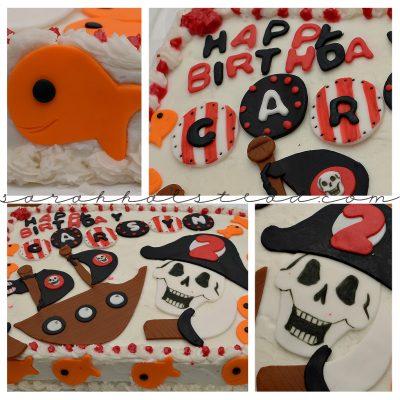 Pirate Birthday Party | Crumby Art