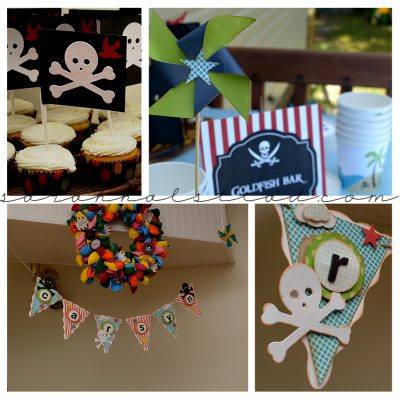 Pirate Birthday Party | Something From Cassie