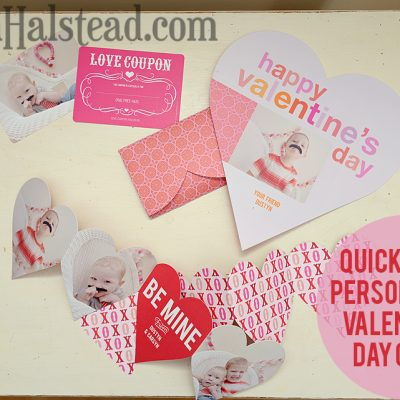Personalized Valentine's Day Cards