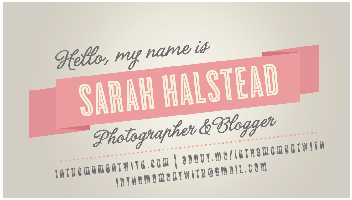 Business Cards from Minted for Blissdom