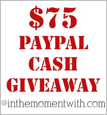 $75 PayPal Cash Giveaway