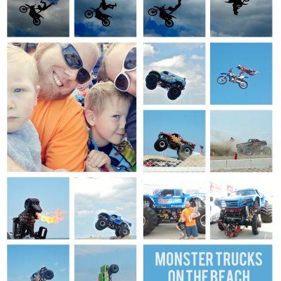 Monster Trucks on the Beach