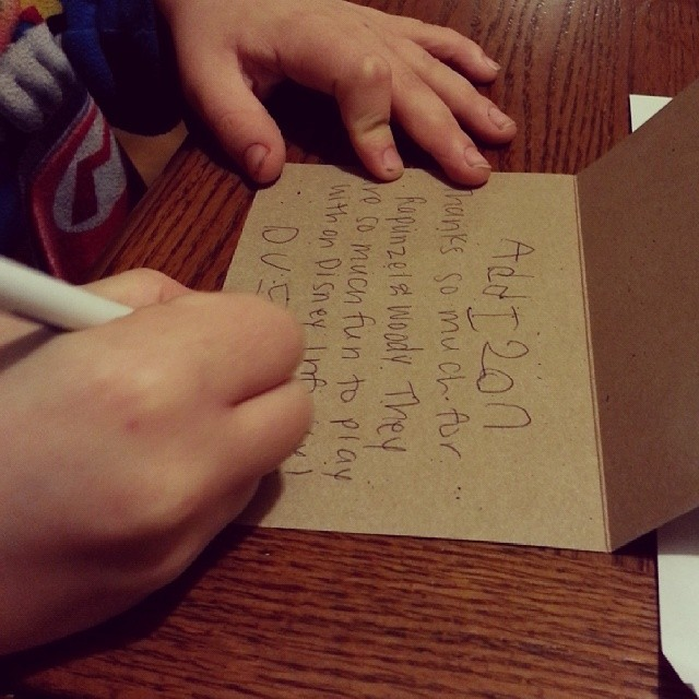 Working on Thank You Cards. #weeklywishes @thenectarcollective