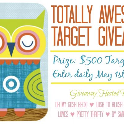 $500 Target Gift Card Giveaway