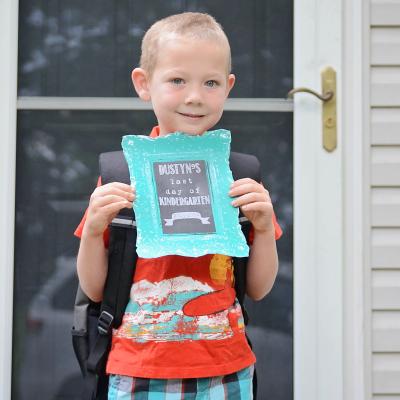 Dustyn's Last Day of Kindergarten