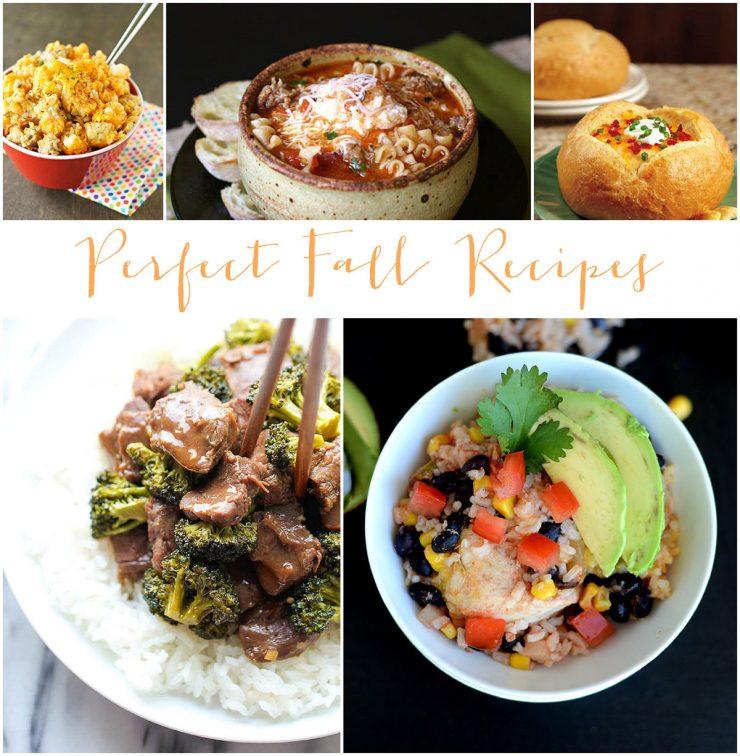 Perfect Fall Recipes