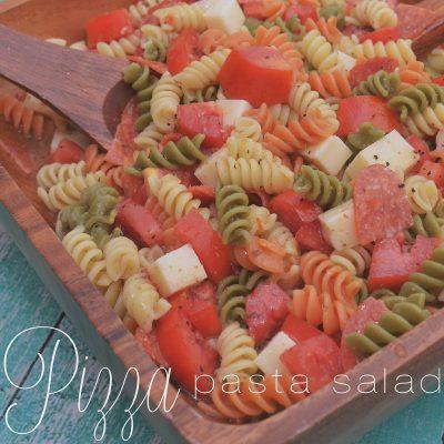 Ad: Hot Wings & Pizza Pasta Salad