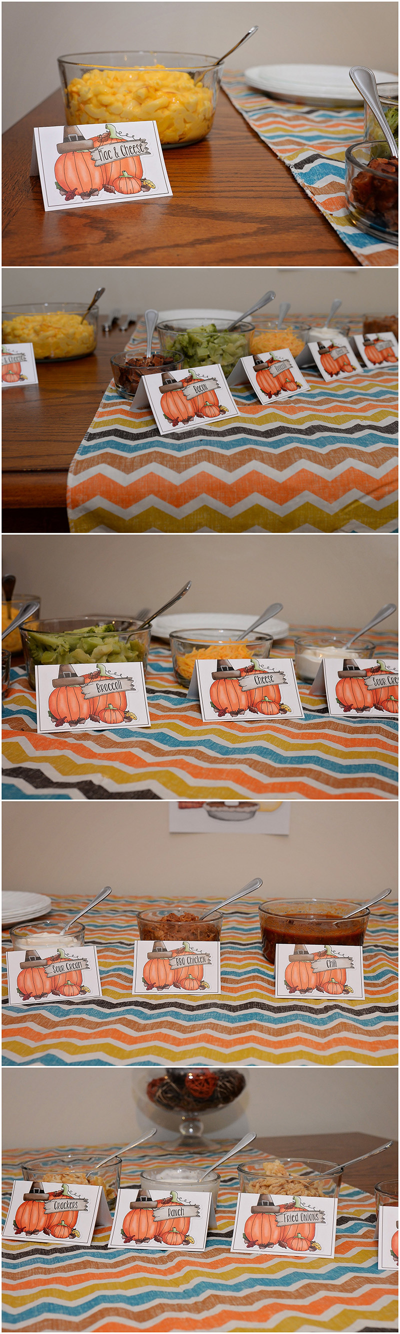 Macaroni and Cheese Bar for entertaining + FREE Printable ...