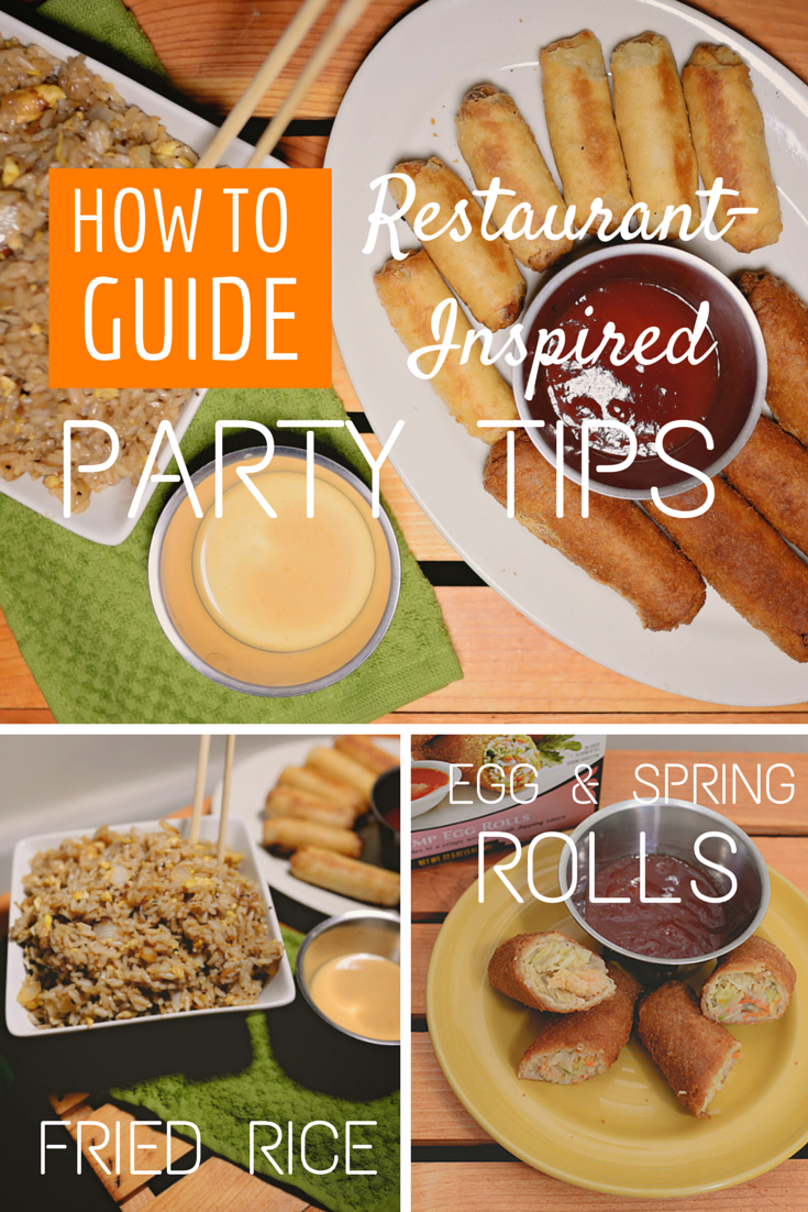 Restaurant-Inspired Party Tips
