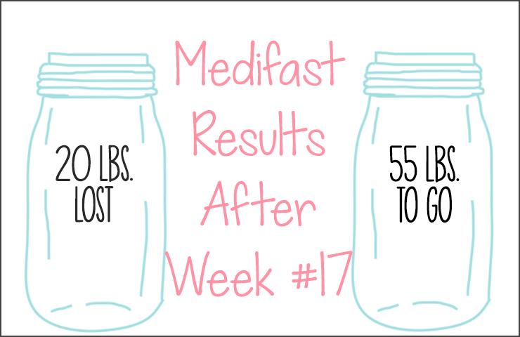 Medifast Journey | Week #17