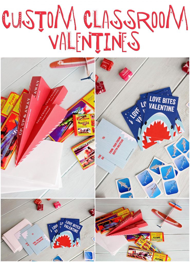 Custom Classroom Valentines