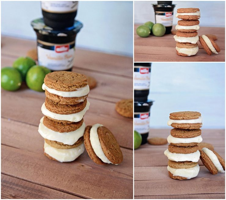 Key Lime Yogurt Ice Cream Sandwiches | #ad #MullerMoment #CollectiveBias