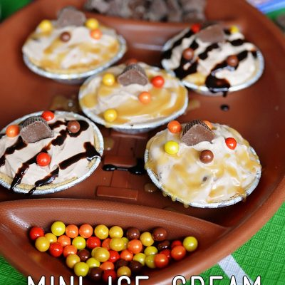 Mini Ice Cream Sundae Pies