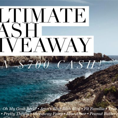 $700 Ultimate Cash Giveaway