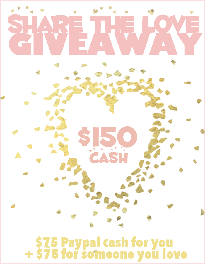 Share the Love Giveaway