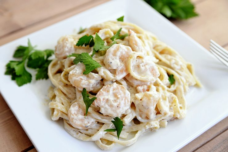 shrimp and broccoli shrimp broccoli fettuccine toss the pasta and