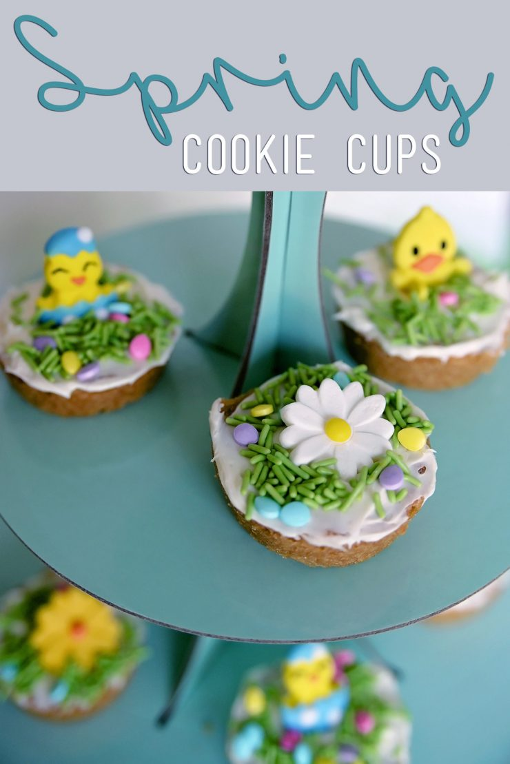 Spring Cookie Cups