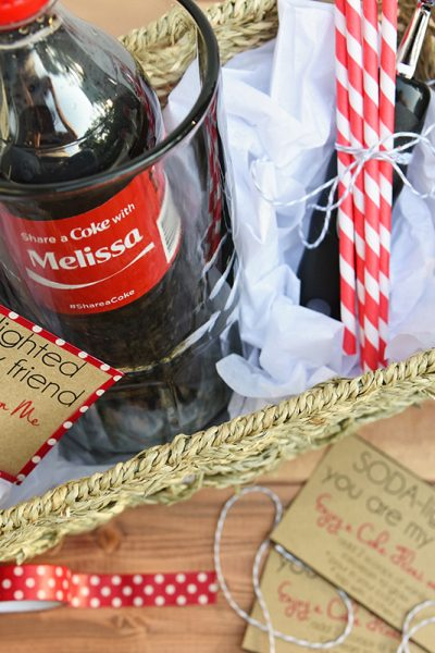 Coke Float Gift Basket