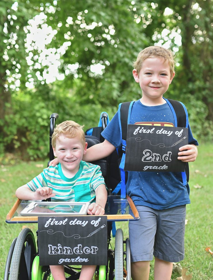 First Day of School 2015 | Whimsy & Hope