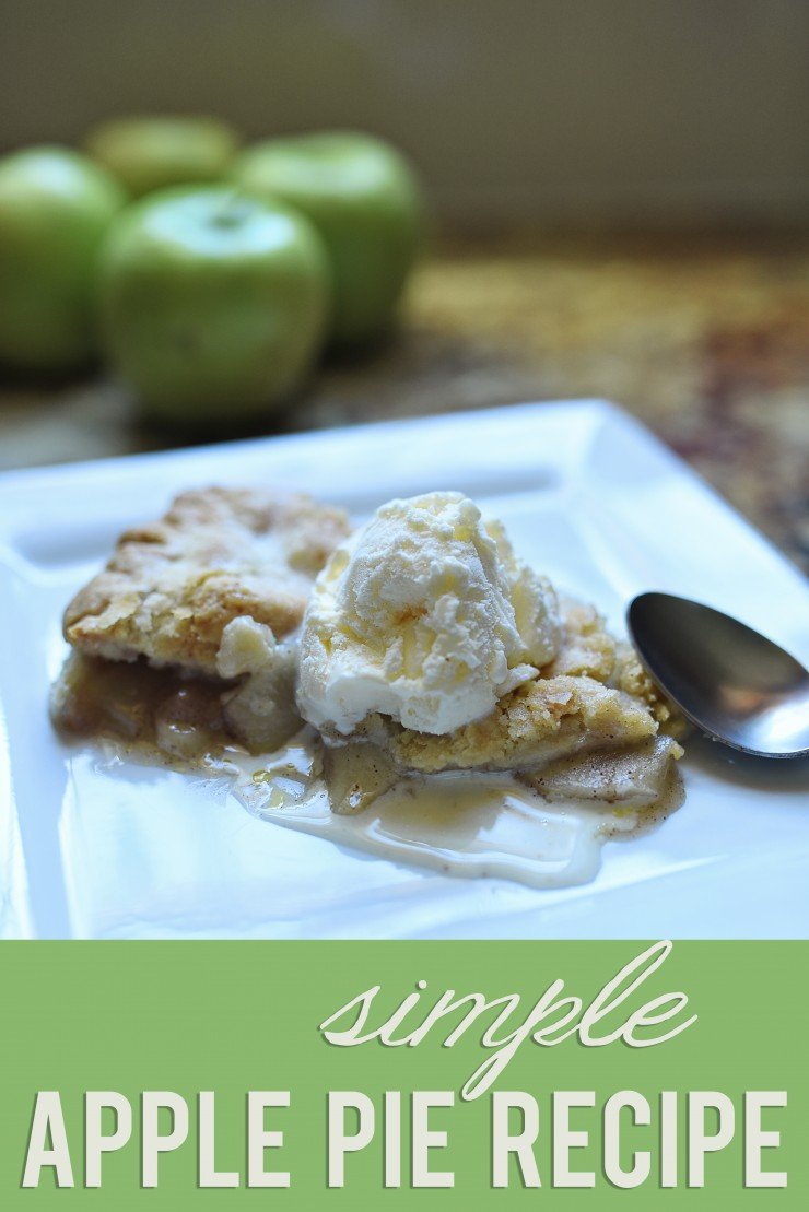 Simple Apple Pie Recipe + Giveaway | Whimsy & Hope