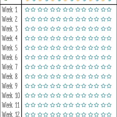 Tooth Brushing Chart
