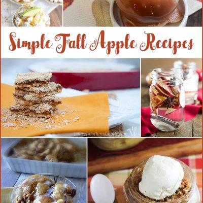 Simple Fall Apple Recipes