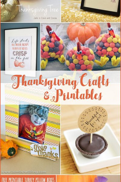 Thanksgiving Crafts & Printables