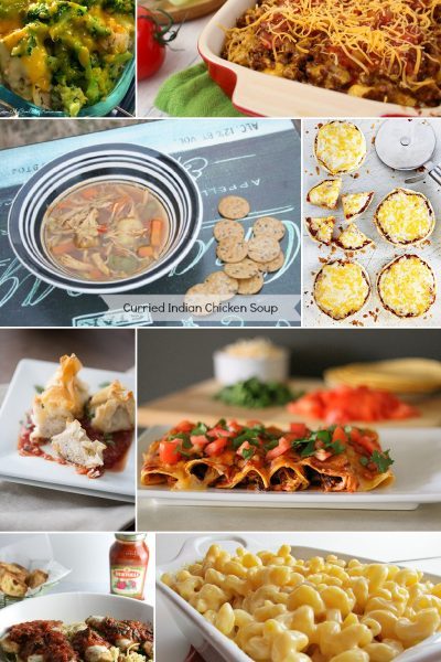 8 Easy Dinner Ideas