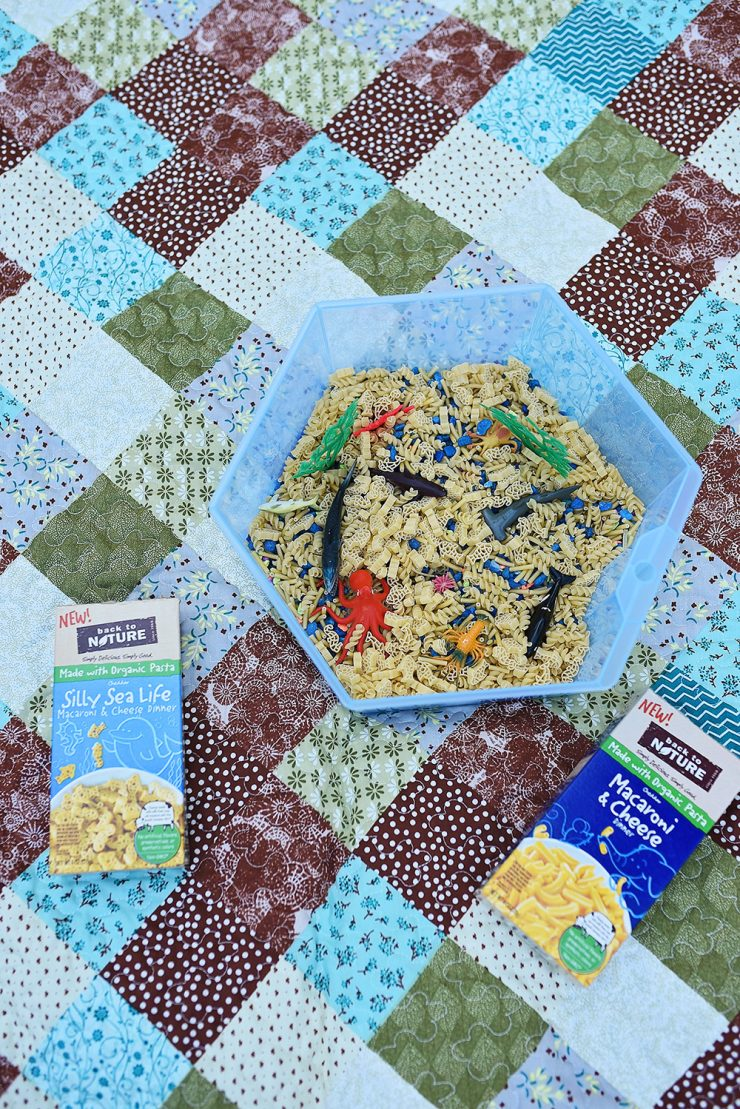 Ocean Sensory Bin | #ad #BackToPlay #CollectiveBias