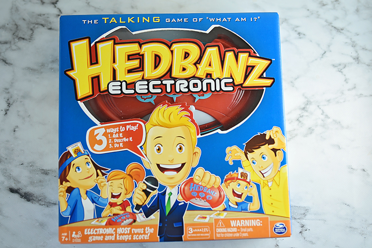 how to play hedbanz electronic