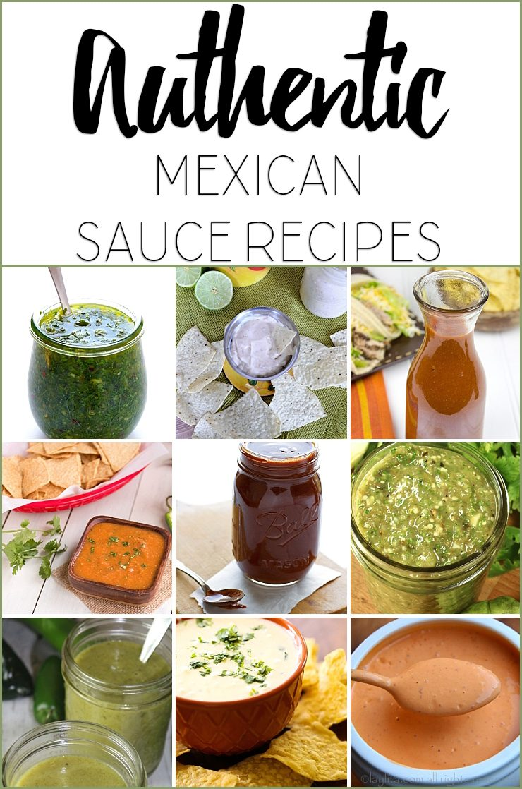 Authentic Mexican Sauce Recipes
