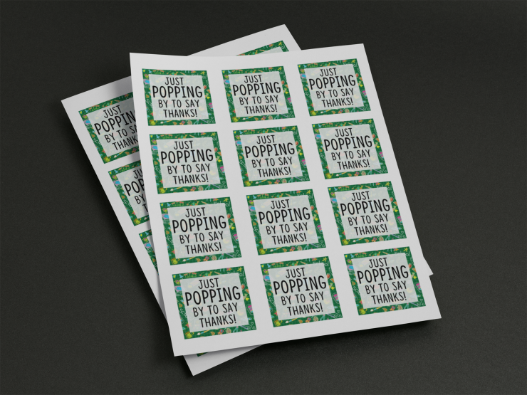 Teacher Appreciation Gift Idea | Free Printable