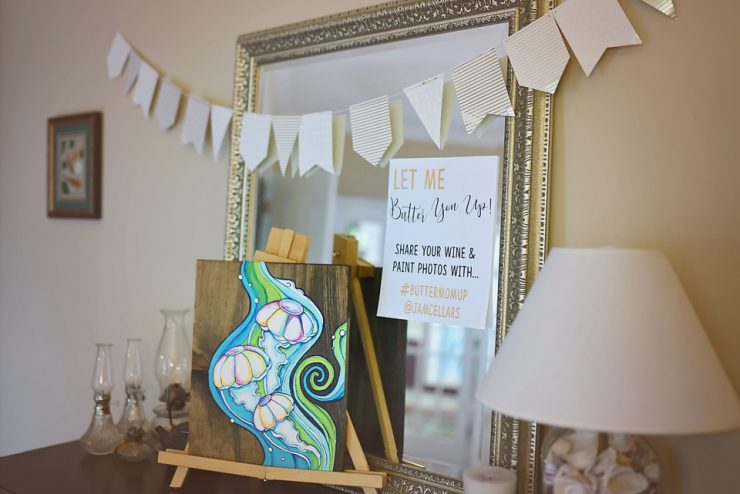 Celebrate Moms with a Wine & Paint Night