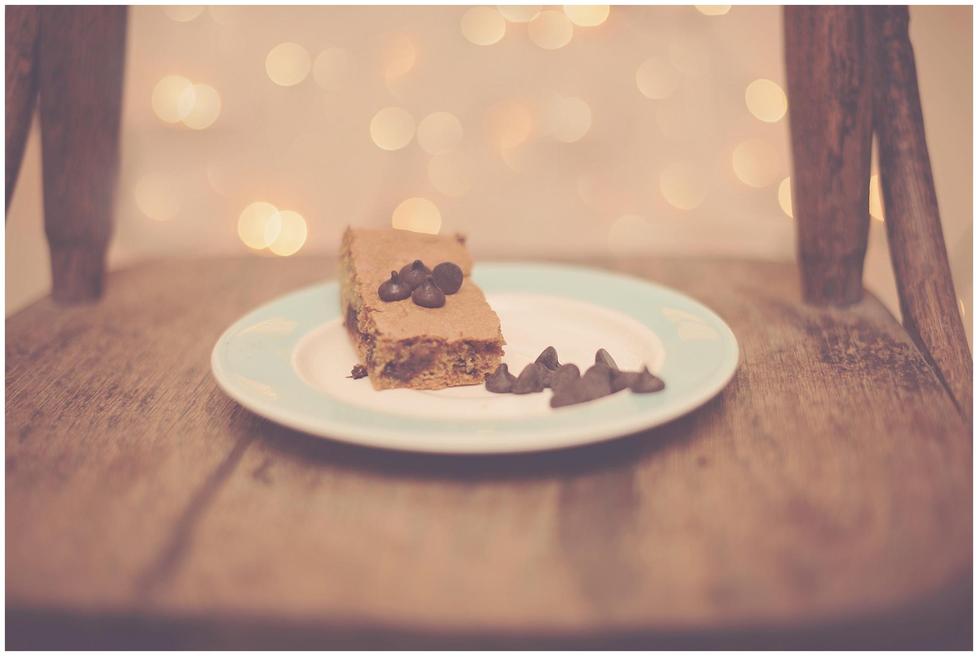 Caramel Chocolate Chip Cookie Bars by Sarah Halstead