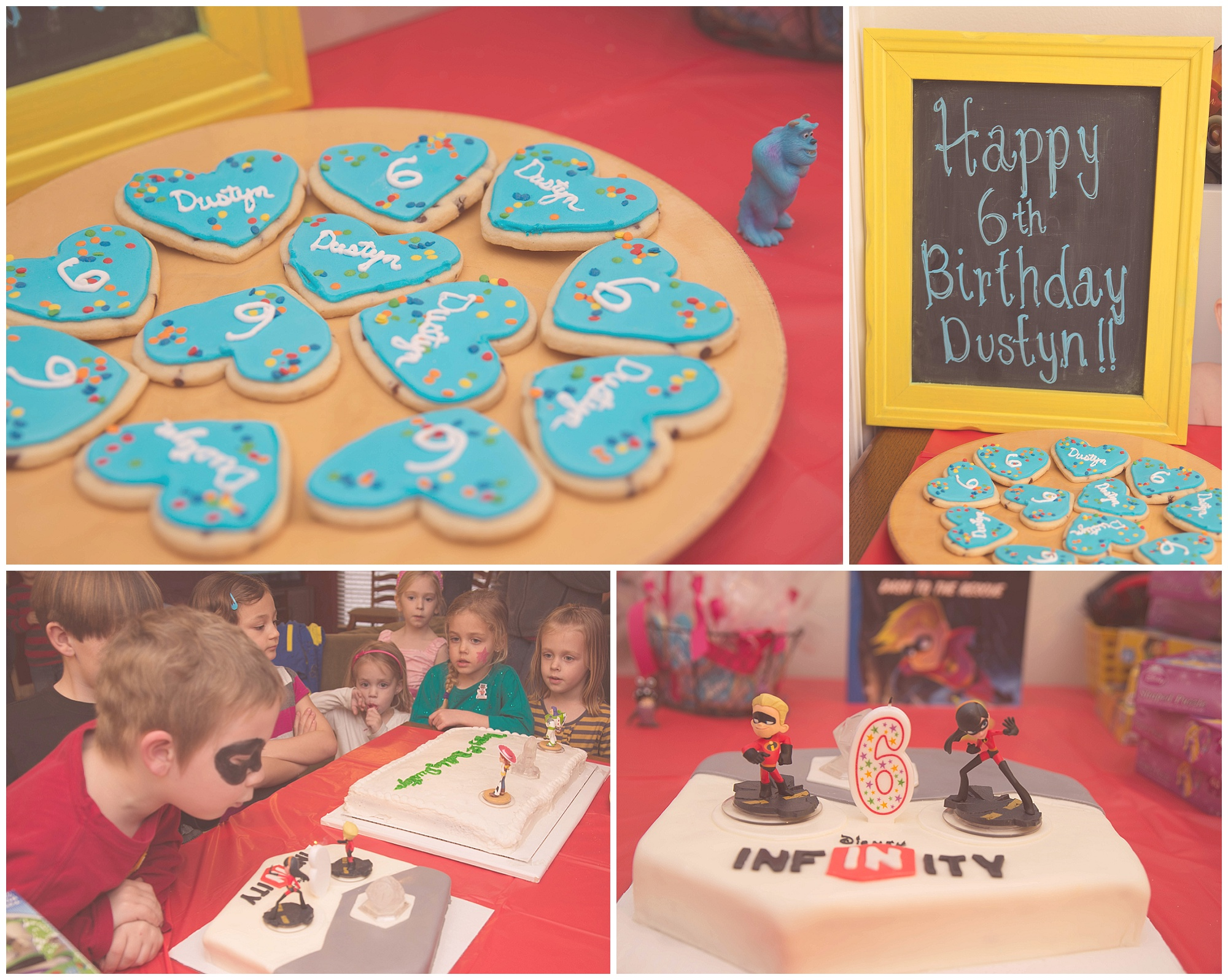 Disney Infinity Birthday Party - Food