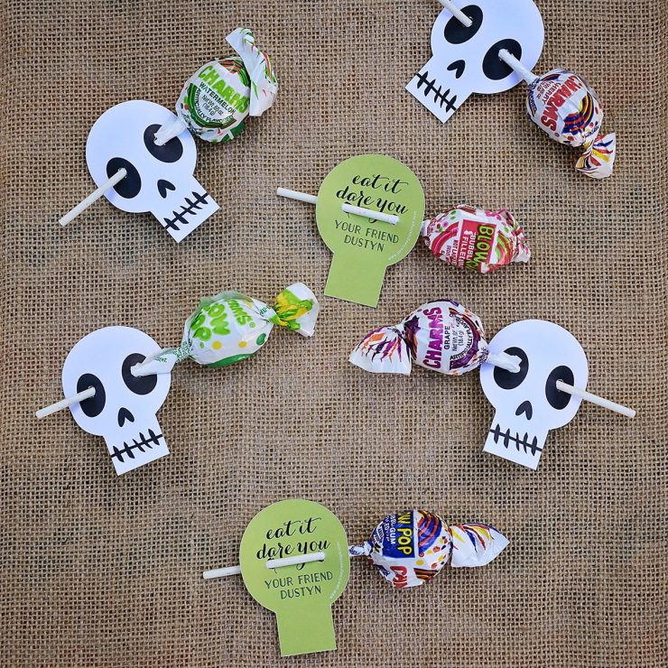 Halloween Treat Ideas | Skullsville Treat Holder