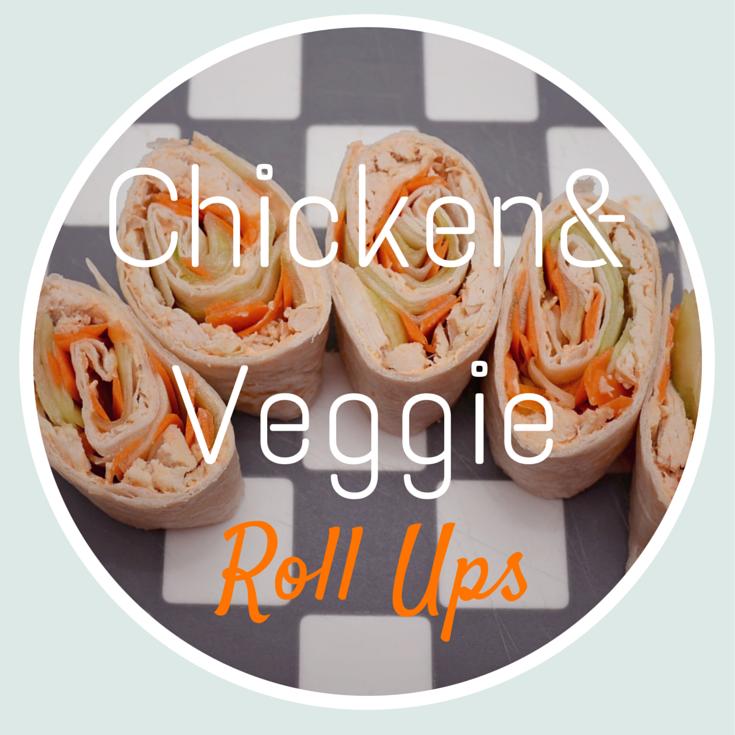 Chicken and Veggie Roll Ups