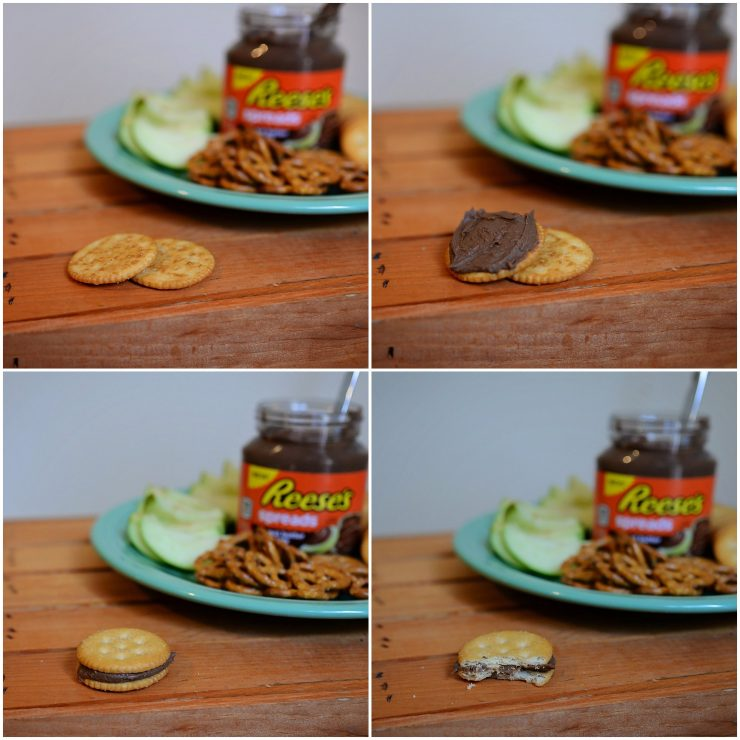 Easy Peanut Butter Chocolate Snack | #AnySnackPerfect #CollectiveBias #shop #cbias