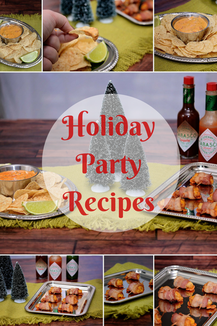 Holiday Party Recipes | #SeasonedGreetings #CollectiveBias #ad