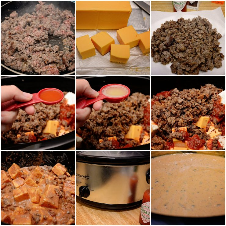 Slow Cooker Spicy Queso Recipe | #SeasonedGreetings #CollectiveBias #ad