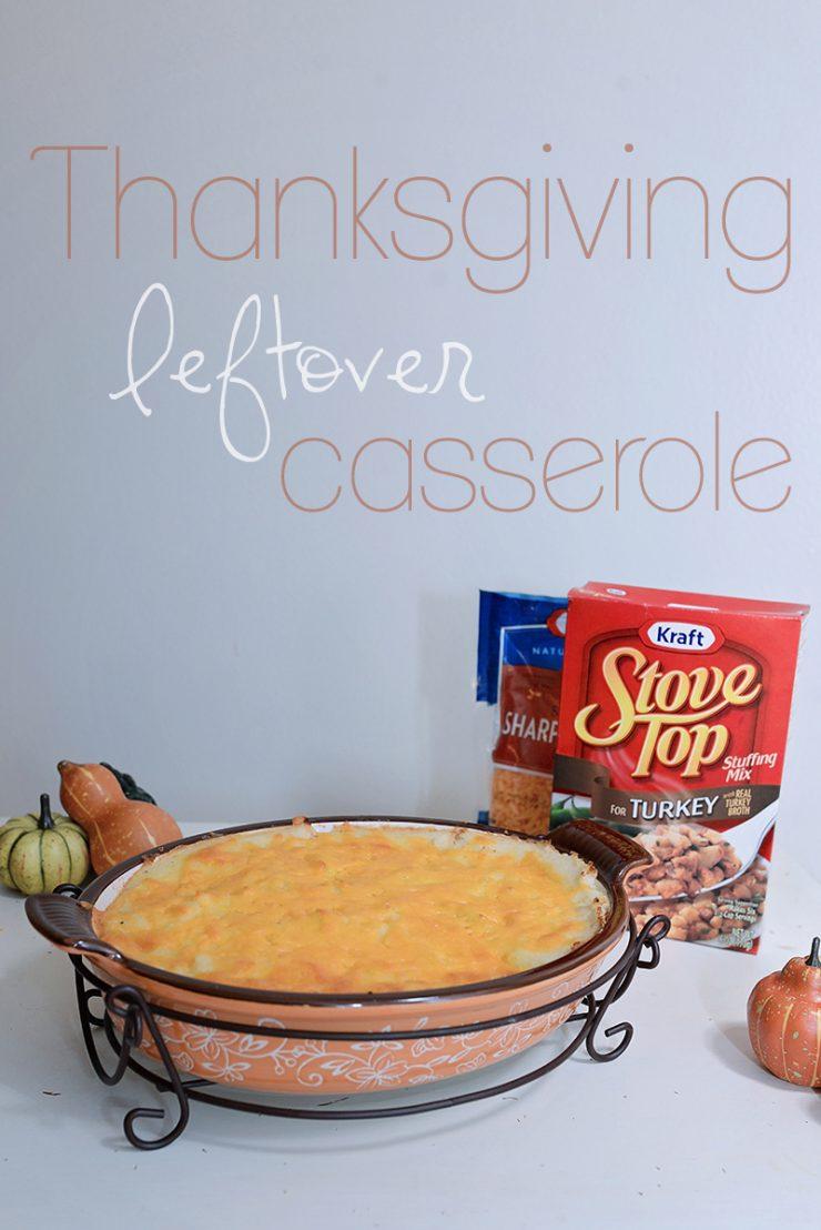 Thanksgiving Leftover Casserole | #TasteTheSeason #CollectiveBias #ad