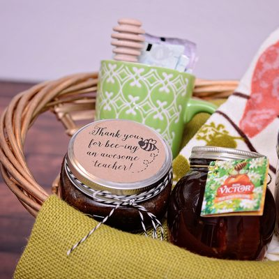 Honey Brown Sugar Scrub and Gift Basket
