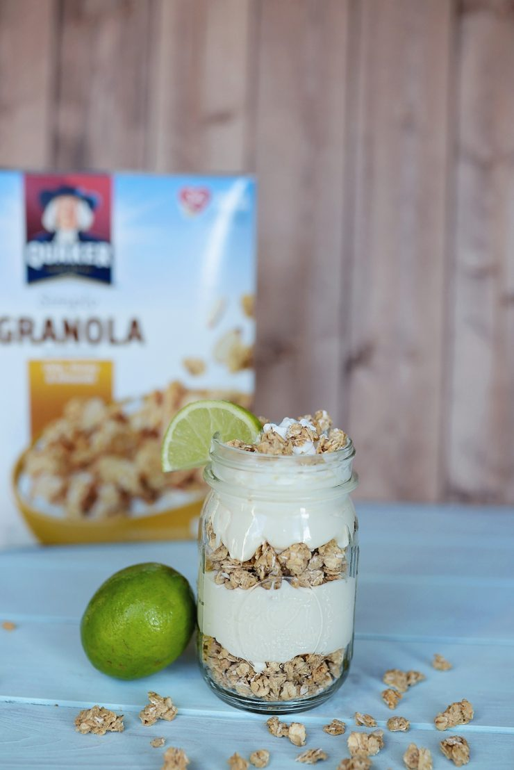 Key Lime Cheesecake Parfait | #QuakerUp #LoveMyCereal #CollectiveBias #spon